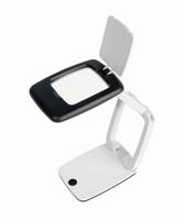 Desk Magnifier POCKET with LED light Description 3X magnification Colour black