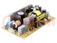 Tápegység: impulzusos; 40W; 127÷370VDC; 90÷264VAC; Kimenet:1; 5VDC