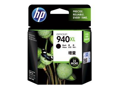 HP 940XL - Vysoká výtěžnost - černá - originál - inkoustová cartridge - pro Officejet Pro 8000, 8500, 8500 A909a, 8500A, 8500A A910a C4906AE#301