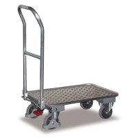 VARIOFIT Klappwagen Stahlrohrwagen Transportwagen, Eigengewicht: 12 kg, Fläche:72 x 45 cm