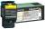 Lexmark C544, C546, X544, X546 Rückgabe-Tonerkassette Gelb (ca. 4.000 Seiten)