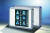 Röntgenfilmbetrachter Mediskop 2000 mit Ein-/Ausschalter, (560 x 435 mm), Typ 560, silbergraues eloxiertes Alugehäuse mit Kontrastecken in leuchtend blau