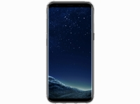 OtterBox Clearly Protected Skin BUNDLE, Extra Slim Silikon beschermhoes voor Galaxy S8 und AlphaGlass Display SchutzGehard glazen screenprotector