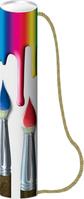 """Zeichenköcher """"Pinsel"""", Maße (ØxL): 80 x 510 mm"""