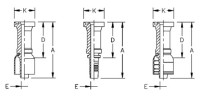 AEROQUIP 1A16FL16