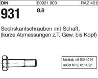DIN931 M24x600