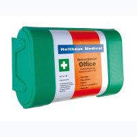 Erste Hilfe Verbandkasten, Inhalt nach DIN 13157, Maße: 26 x 17 x 9,5 cm, grün