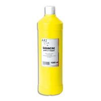 ART PLUS Gouache prête à l'emploi 1 litre Jaune primaire