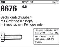 ISO8676 M10x1,25x25