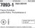 ISO7093 36/39x110x6