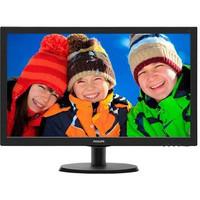 TFT-Bildschirm LCD, V-line 223V5LSB, Diag.: 54,61 cm, schwarz