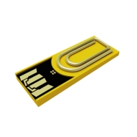 USB-Stick clip/me CM04LY000 4GB 2.0 Sunflower Yellow