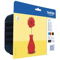 BROTHER Multipack Jet d'encre LC121VALBP