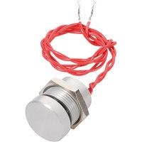 Apem PBAR2AF0000 22mm IP69K Vandal Resistant Piezo Switch SPST Off-On