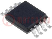 Memória; EEPROM; I2C; 32kx8bit; 1,7÷5,5V; 400kHz; MSOP8
