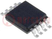 Hőmérséklet-érzékelő; digtális hőmérő; -40÷125°C; MSOP8; SMD
