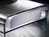 Tisch-Prospekthalter acrylic, mit 3 Fächern_geriffelter_boden