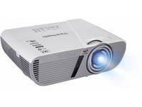 PJD5553LWS Projector - WXGAw/3200lm, 0.5 Short ThrowRatio - 1xHDMI/2xVGAin/1xVGAout/miniUSBin/RS232/2W Speaker - White WXGA