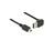 Anschlusskabel USB 2.0 EASY Stecker A an mini Stecker, oben/unten gewinkelt, schwarz, 2m, Delock® [83544]