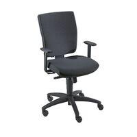 Operator swivel chair, synchronous mechanism