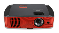 Acer Z650 2200ANSI lumens DLP 1080p (1920x1080) Wall-mounted projector Zwart, Rood