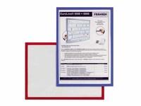 Dokumentenhalter | magnetisch | DIN A4 | 5 Stück | grün