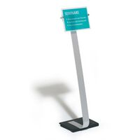 CRYSTAL SIGN floor stand