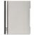 DURABLE Chemise de présentation à lamelles A4+ - gouttière de passage - couverture pvc transparente Gris