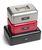 Geldkassette (B 26,0 x T 18,5 x H 8,5 cm, rot) mit Zahlenschloß