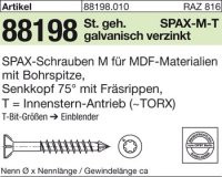 ABC SPAX M Screw 4 mm x 45/30 mm