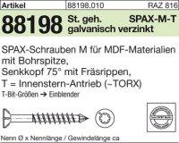 ABC-SPAX-M-Schrauben 4x50/35-T