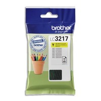 BROTHER Cartouche Jet encre LC3217Y