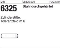 DIN6325 Stahl 2,5|mm m 6 x 10|mm