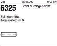DIN6325 Stahl 1,5 mm m 6 x 8 mm