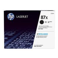 HP originál toner CF287X, black, 18000str., HP 87X, high capacity, HP LJ Enterprise M506, HP LJ Pro MFP M527, M501n, 1230g
