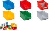 allit Sichtlagerkasten ProfiPlus Box 2, aus PP, blau (71510005)