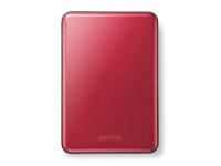 "Buffalo MiniStation Slim USB 3.0 2.5"" Extra Slim external HDD 1TB, rot Bild 1"