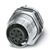 Wanddurchführung 8-polig M12 SACC-DSI-FS #1553860