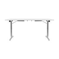 Stół składany ze szkieletem w kształcie litery T