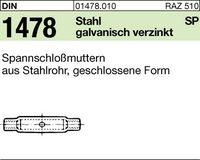 DIN 1478 Stahl SP Spannschlossmuttern M16
