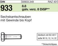 DIN933 M8x50