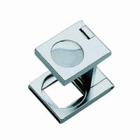 Precision linen testers metal Lens diam. 12.5 mm Field of view 10 x 10 mm Magnification 12x/48dpt