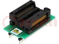 Adapter: DIL44-PSOP44; 600mils