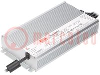 Tápegység: impulzusos; LED; 600W; 30VDC; 20A; 90÷305VAC; 127÷431VDC
