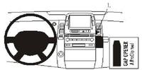 Brodit Fahrzeughalter ProClip für Toyota Prius 04-09