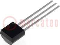 Memory; EEPROM; 1-wire; 2.8÷5.25V; TO92; Package: bulk