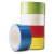Detailbild - Weißes PVC Packband ADH046R - B:50 mm / L:66 m