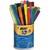 BIC Pot de 36 feutres pointe fine VISA 2x18, couleurs assorties