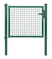 Wellengitter-Einzeltor,vz,grün Kst.b.,B Mitte-Mitte Pf.1000mm,H1250mm