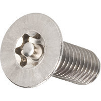Toolcraft 88117 Tamperproof Torx Countersink Screws A2 Stainless M3x6mm Pk 10